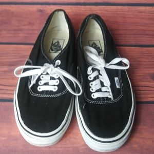 VANS Classic original canvas shoe black